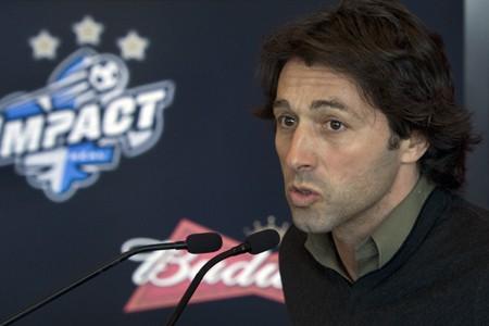 Le directeur technique de l'Impact, Nick De Santis.... (Photo: Robert Skinner, La Presse)