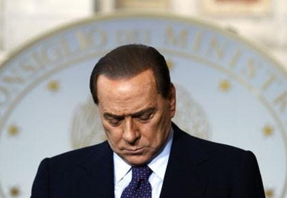 Silvio Berlusconi a affirmé «partager» la décision de... (Photo: Reuters)