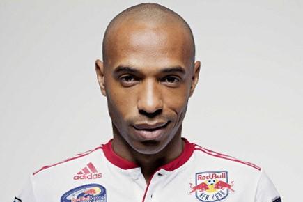 Thierry Henry dans l'uniforme des Red Bulls.... (Photo: Reuters)