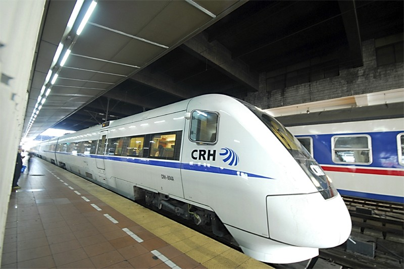 Un train CHR1 de Bombardier Transport.... (Photo fournie par Bombardier)