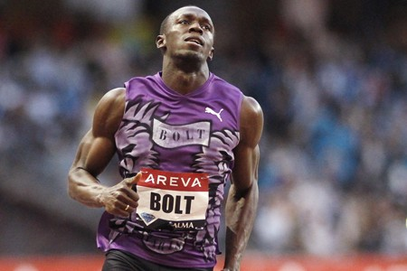 Usain Bolt... (Photo: Reuters)