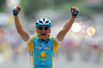 Alexandr Vinokourov... (Photo: AFP)