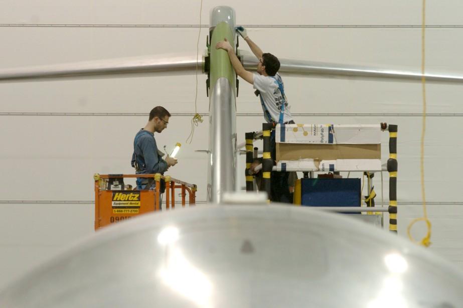Une usine de Bombardier.... (Photo: Archives La Presse)