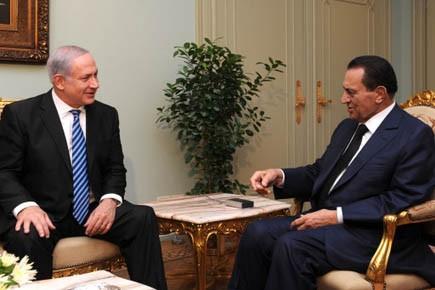 Le premier ministre israélien Benjamin Nétanyahou rencontre le... (Photo AFP)