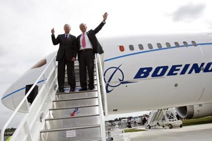 Le chef de la direction de Boeing, Jim... (Photo: Reuters)