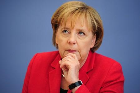 La chancelière allemande Angela Merkel.... (Photo: AFP)