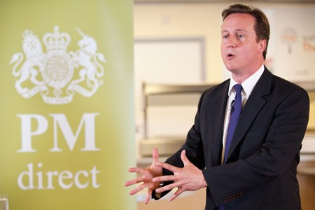 Le premier ministre britannique David Cameron.... (Photo: AFP)