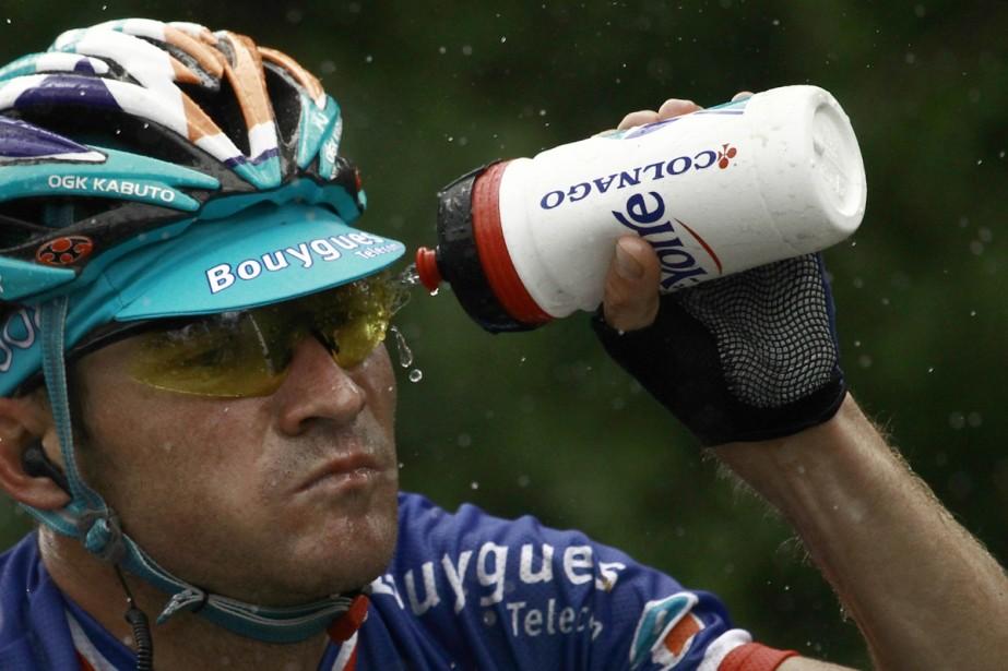 Thomas Voeckler... (Photo: AFP)