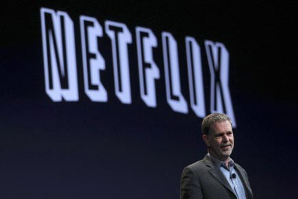 Le grand manitou de Netflix Reed Hastings.... (Photo: Robert Galbraith, Reuters)