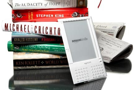 Un Kindle d'Amazon... (Photo: Bloomberg News)