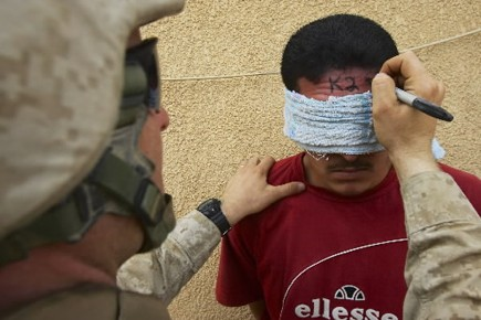 Le 19 novembre 2005, vingt-quatre civils irakiens ont... (Photo: AP)