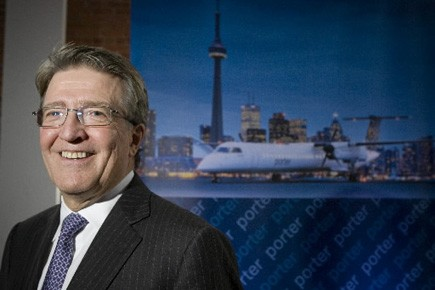 Robert Deluce, dirigeant de Porter Airlines.... (Photo André Pichette, archives La Presse)