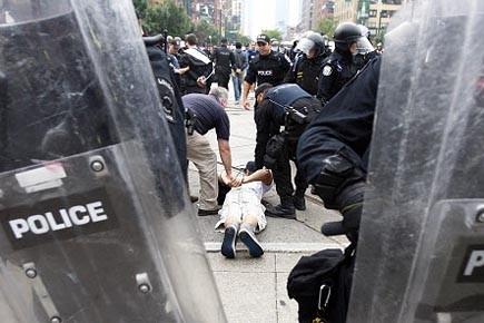 Les nombreuses arrestations préventives faites en... (Photo: archives Reuters)