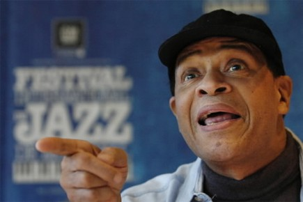 Al Jarreau... (Photo: Patrick Sanfaçon, La Presse)