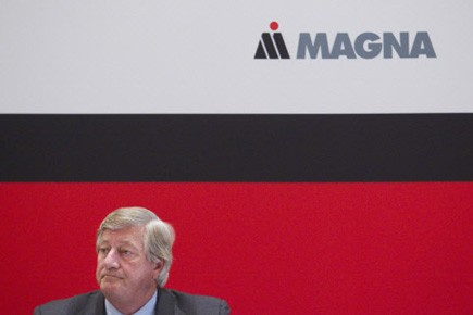 Michael Harris, président du conseil d'administration de Magna... (Photo Reuters)