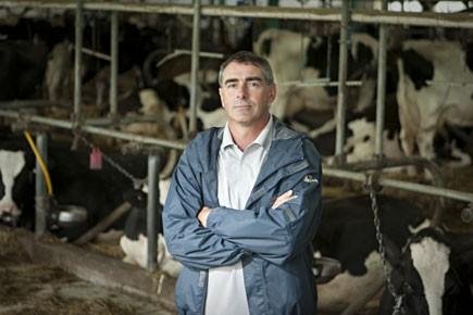 Marcel Groleau, membre de l'exécutif de l'UPA et... (Photo: François Roy, La Presse)