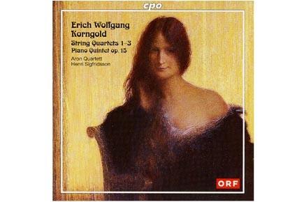 Korngold, quatuor à cordes. Aron et Henri Sigfridsson,...