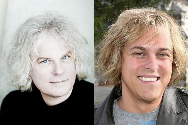 Alex Perron et Ronald Brautigam....