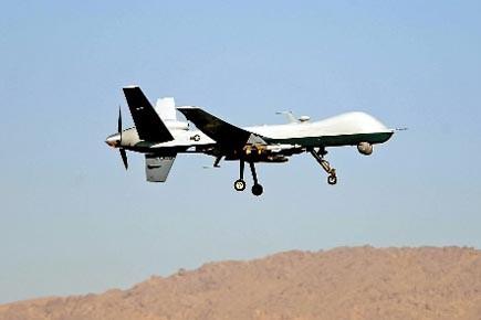 Deux drones américains ont tiré samedi quatre missiles... (Photo: AFP)