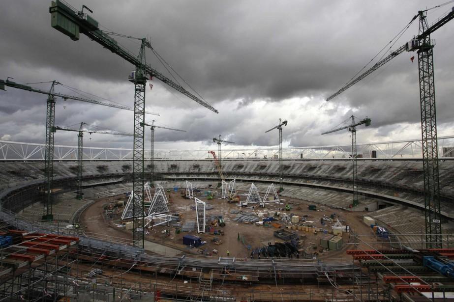 Le futur stade olympique pour les JO de... (Photo: Reuters)