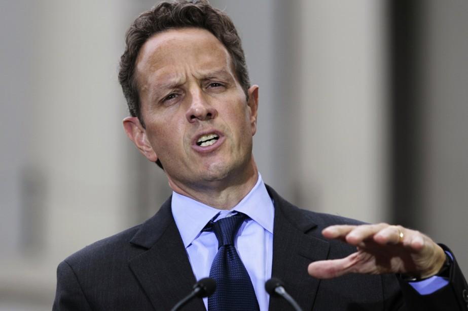Le  secrétaire au Trésor américain Timothy Geithner... (Photo: Reuters)