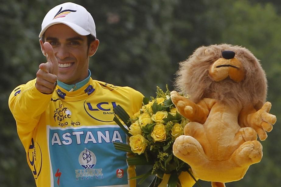 Alberto Contador... (Photo: AP)