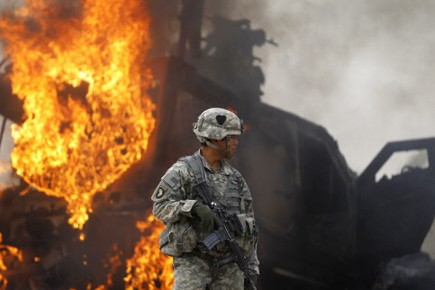 La guerre en Afghanistan dure depuis près de... (Photo: Reuters)