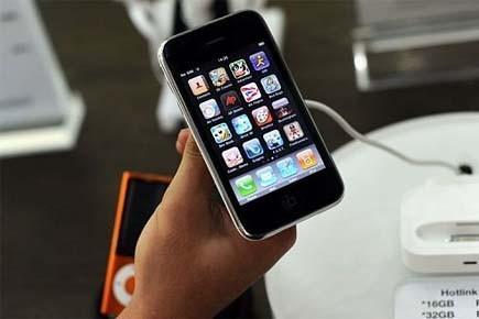 Le cellulaire iPhone 4 d'une valeur de 659$... (Photo: AFP)