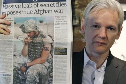 Le fondateur de Wikileaks, Julian Assange.... (Photo: Reuters)
