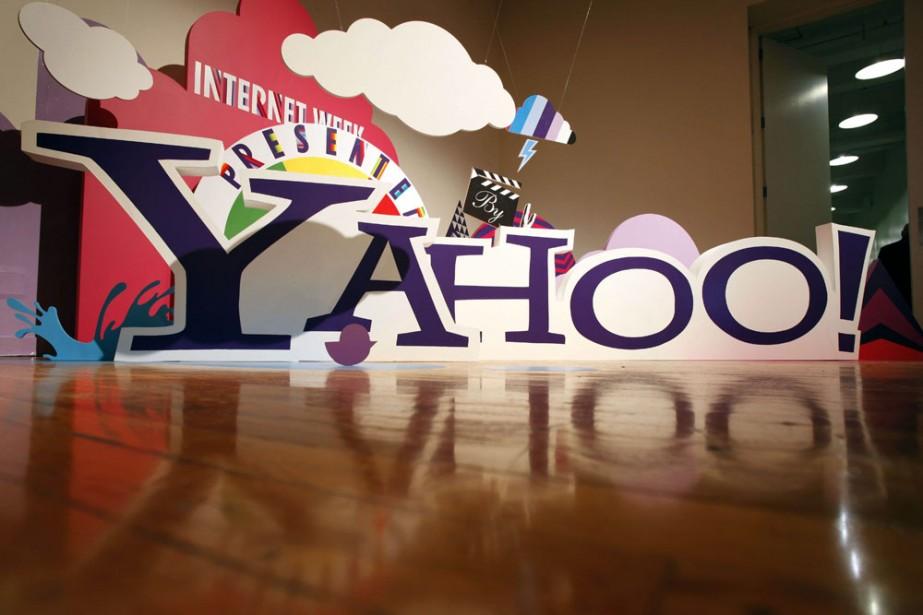 Le logo de Yahoo... (Photo: AP)