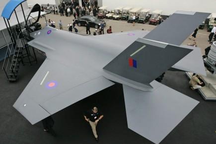 Avion de combat de Lockheed Martin.... (Photo AP)