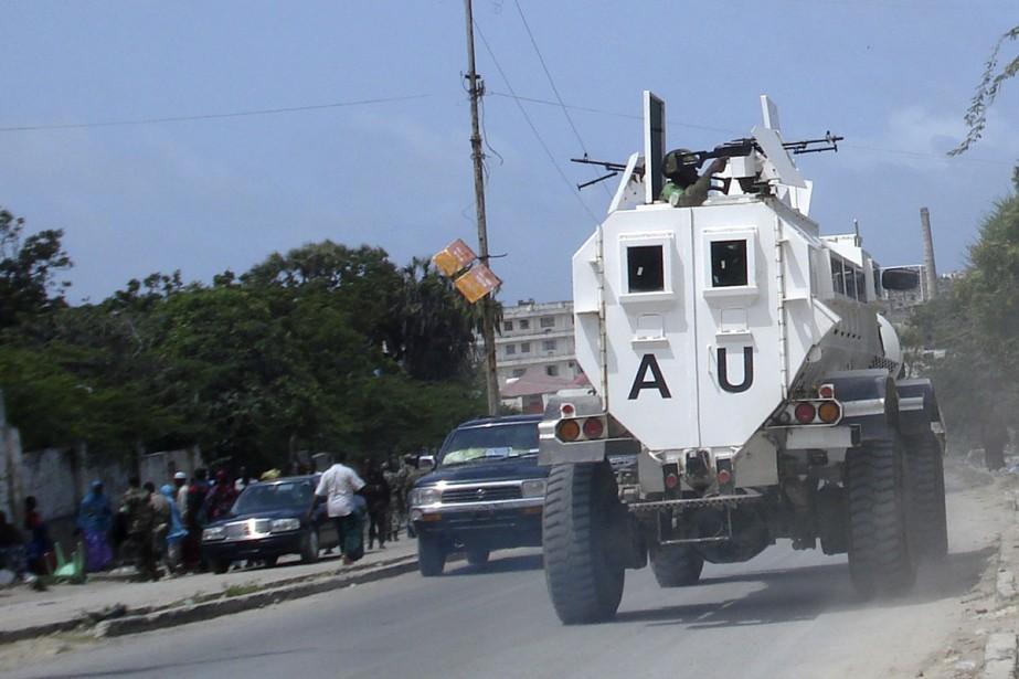 La force de l'UA en Somalie (Amisom), qui... (Photo: AFP)