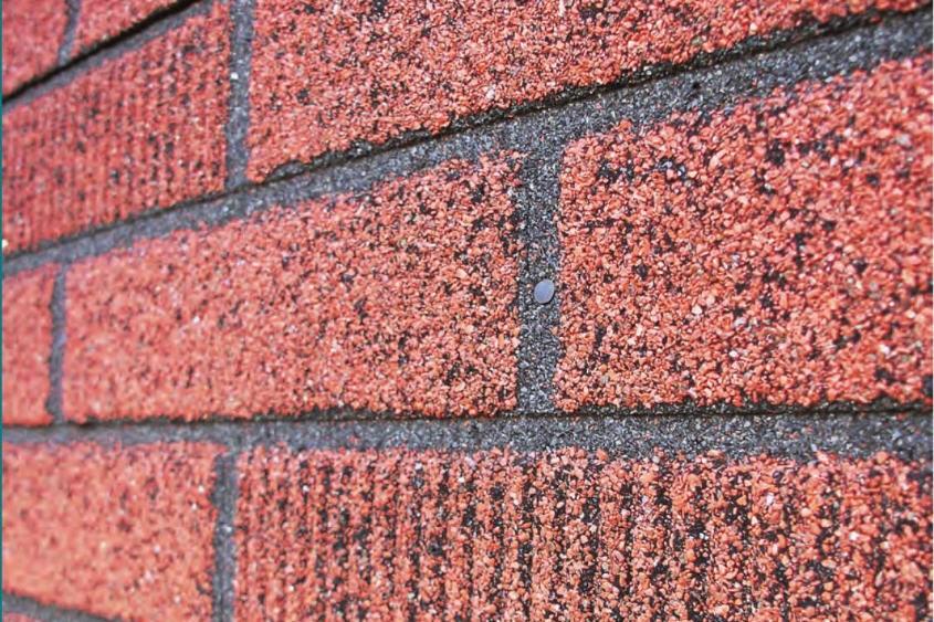 «Il n'est pas rare qu'un mur de brique... (Photo: Photothèque Le Soleil)