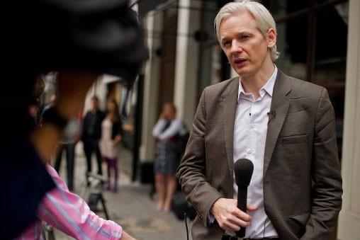 Julian Assange, fondateur du site Wikileaks...