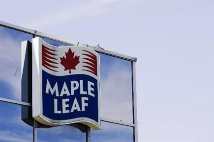 Aliments Maple Leaf a vu sa perte se creuser à 16 millions ou... (Photo: Reuters)