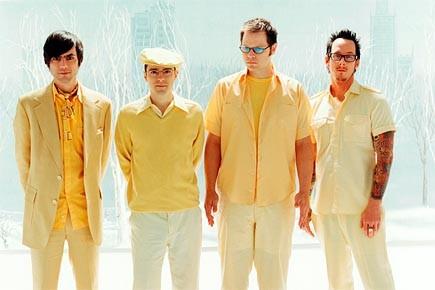 Le groupe pop-rock Weezer... (Photo: Sean Murphy)
