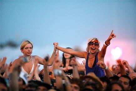 Des spectateurs au Festival Coachella en 2007.... (Photo: archives Reuters)