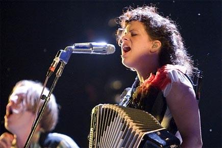 Hier soir à Osheaga, Arcade Fire jouait à... (Photo: David Boily, La Presse)