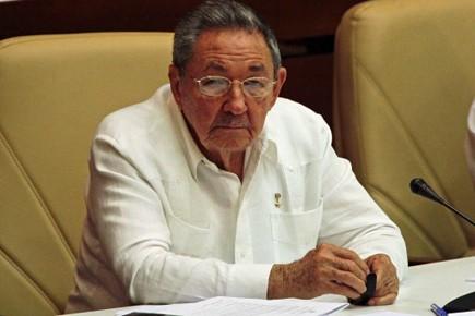Le président cubain Raul Castro.... (Photo Reuters)
