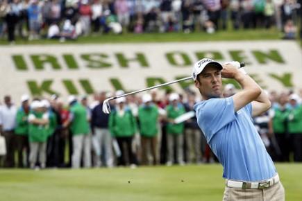 Ross Fisher l'a emporté par deux coups devant... (Photo AP)