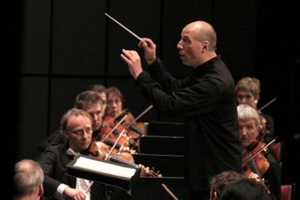 Paavo Järvi et son orchestre à Lanaudière samedi... (Photo: Baptiste Grison, Festival de Lanaudière)