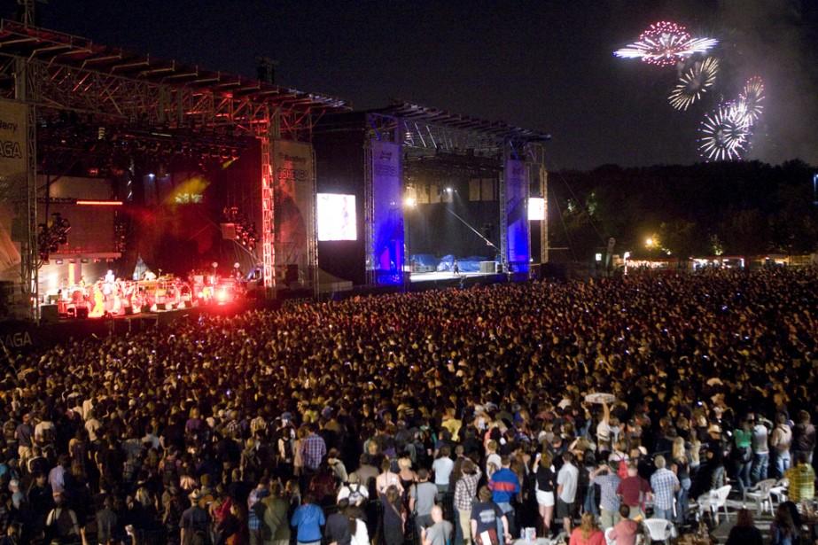 La 5e présentation du festival Osheaga, qui s'est... (Photo: David Boily, La Presse)