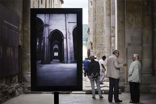 Depuis cet été, un écran plat orientable verticalement... (Photo: AFP)
