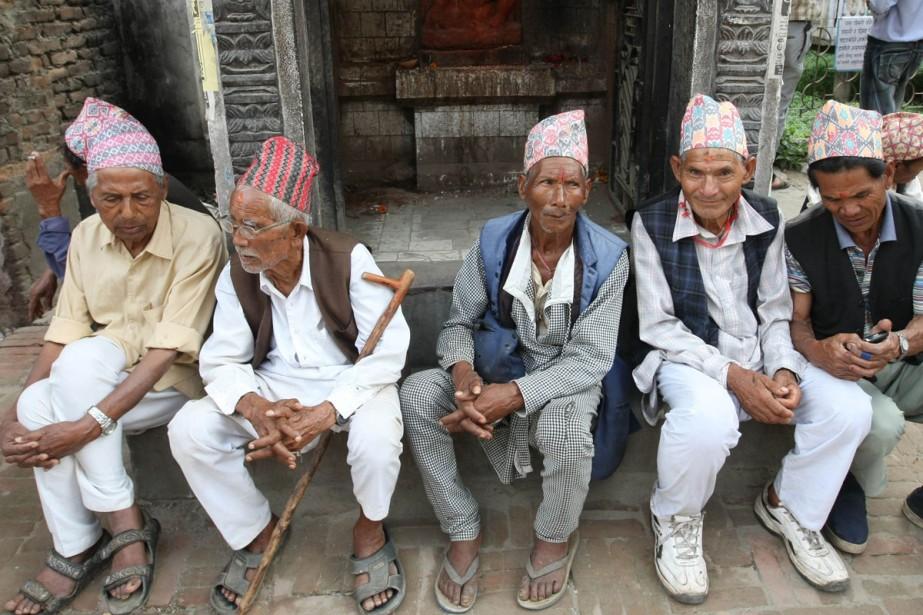 Les Népalais connaîtront-ils enfin la stabilité politique? Le... (Photo: AFP)