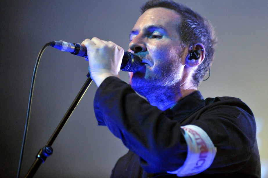 Robert Del Naja, chanteur de Massive Attack.... (Photo: AP)