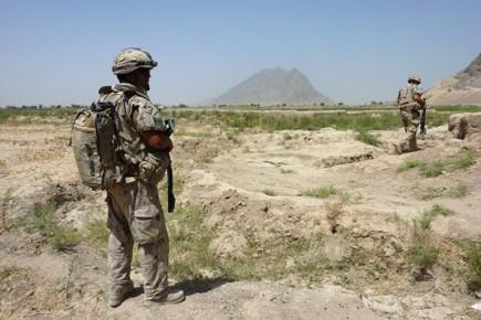 Les troupes canadiennes doivent quitter l'Afghanistan en juillet... (Photo: AFP)