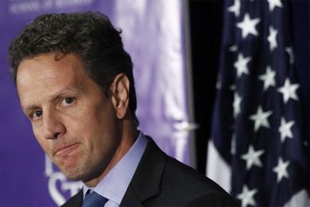 M. Geithner a appelé les entreprises financières à... (Photo: Reuters)