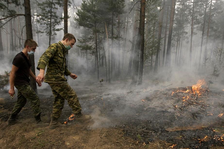 Le nombre de foyers d'incendie aurait décuplé de... (Photo: AFP)