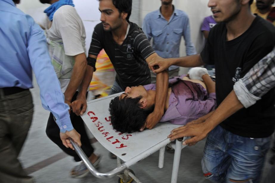 Quarante-et-une personnes ont été tuées depuis le début... (Photo: AFP)
