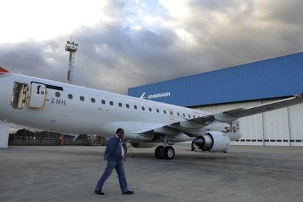 L'avionneur brésilien Embraer a annoncé mercredi un accord avec... (Photo: AFP)
